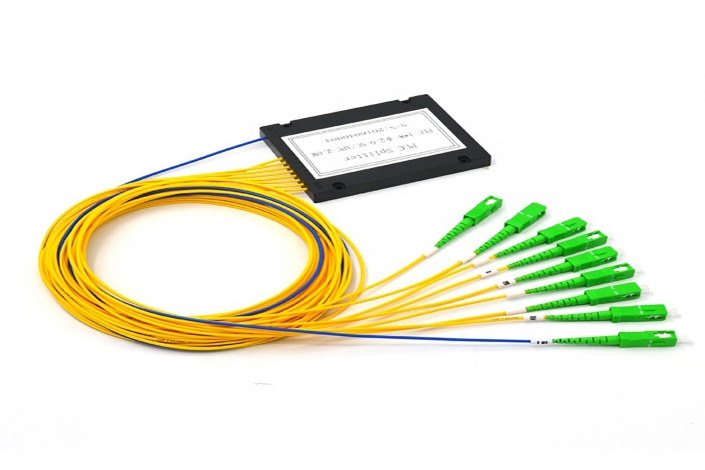 ftth 8 way fiber optical plc splitters