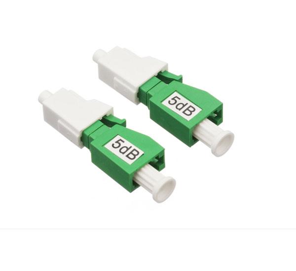 Fiber Optic 5dB LC APC Attenuators